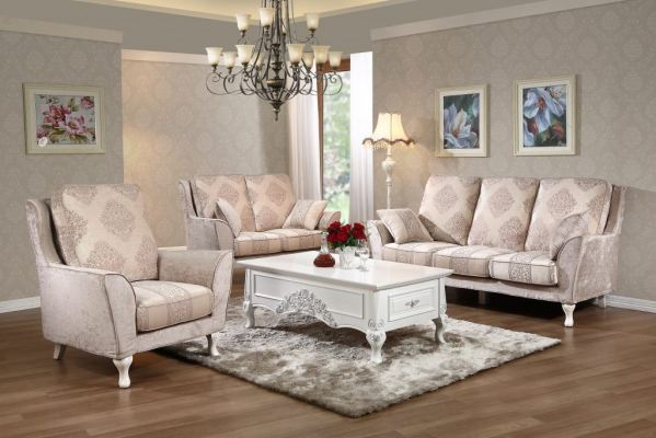 QUEEN ANNE - SOFA SET