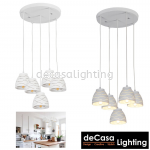 PENDANT LIGHT (LY9020-5RB-WH)