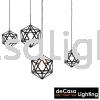 PENDANT LIGHT (PX1319-BK) (4 SIZES AVAILABLE-D300/D400/D450/D500) Loft Design PENDANT LIGHT