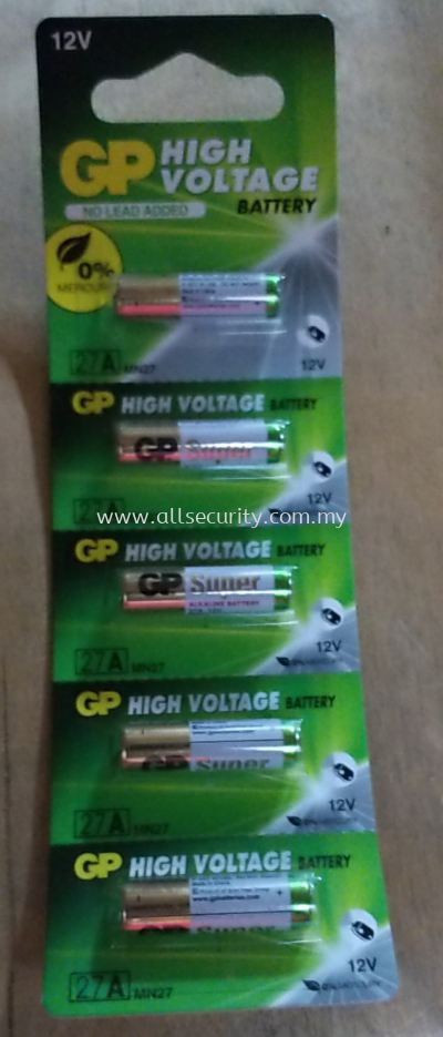 GP HIGH VOLTAGE 27A BATTERY