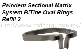 Palodent Sectional Matrix System BiTIne Oval Ring -Refill 2