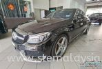 To have close shot with the Black series of Mercedez Benz C200 Coupe Mecedes Benz Completed Job STE Coating