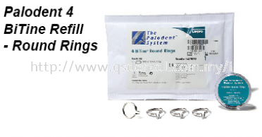 Dentsply Pelodent 4 BiTime Refill - Round Rings