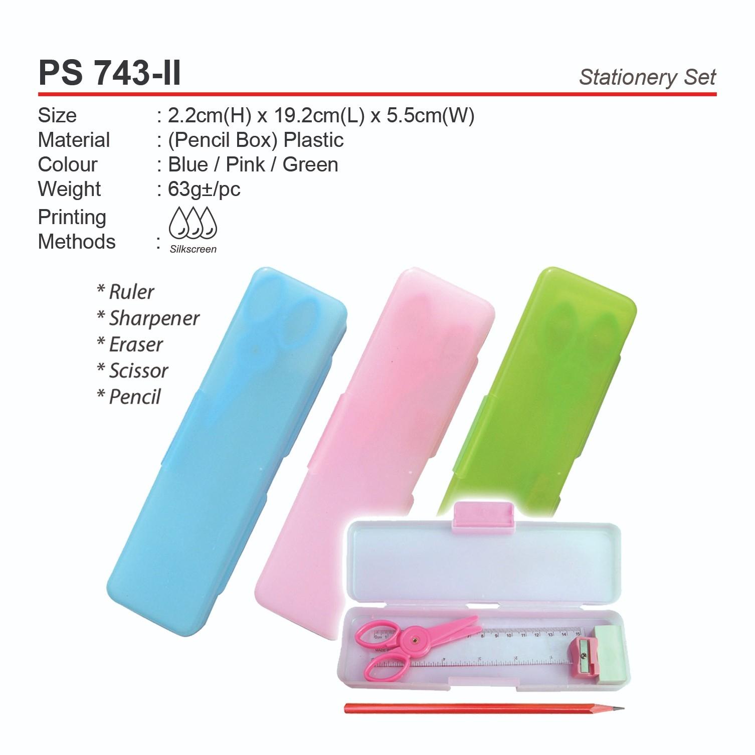 PS 743-II Stationery Set
