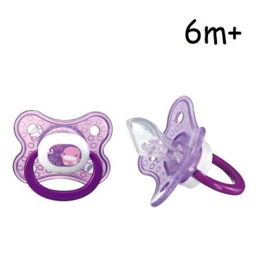 KUKU DUCKBILL Colourful Orthodontics Pacifier 6 month+ PINK (KU5511)