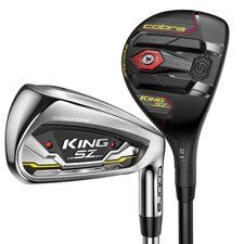 Cobra Mens King SpeedZone Combo Graphite Irons and 1 piece HYBRID