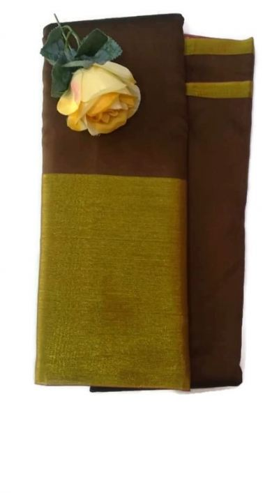 SOFT COTTON SAREES [TWO TONE]