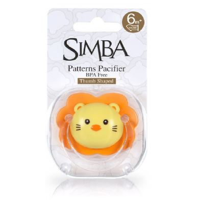 SIMBA Thumb Shaped Pacifier 6 month+ (P19011)