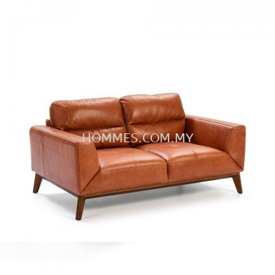Cow-Hide Thick Leather Sofa