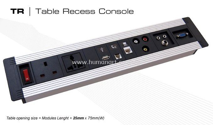 TABLE RECESS CONSOLE 1