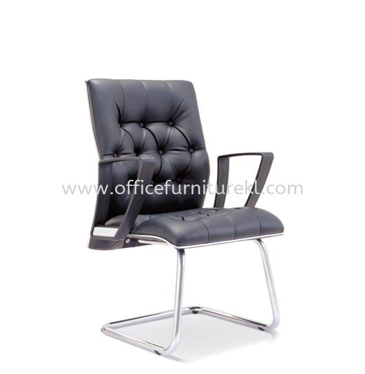 ZYRON DIRECTOR VISITOR LEATHER OFFICE CHAIR - Top 10 Best Office Furniture Product Director Office Chair | Director Office Chair Sri Hartamas | Director Office Chair Publika | Director Office Chair Puncak Alam