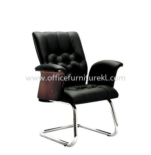 ARISAL DIRECTOR VISITOR LEATHER OFFICE CHAIR - Top 10 Best New Design Wooden Director Office Chair | Wooden Director Office Chair Bangsar Village | Wooden Director Office Chair Tmc Bangsar | Wooden Director Office Chair Desa Pandan