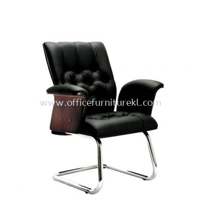 ARISAL DIRECTOR VISITOR LEATHER CHAIR WITH CHROME CANTILEVER BASE