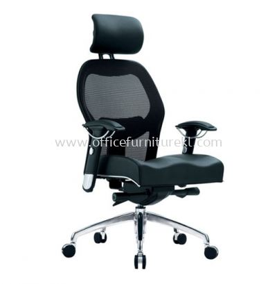 MANSION 2 HIGH BACK ERGONOMIC MESH CHAIR WITH ALUMINIUM ROCKET DIE-CAST BASE