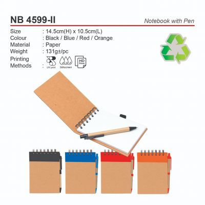 NB 4599-II Notebook with Pen