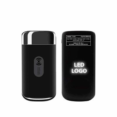 LED Logo Power Bank +Wireless Charging (IT108)