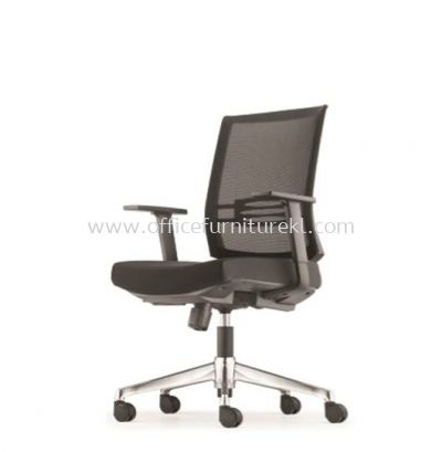INTOUCH 2 LOW BACK ERGONOMIC MESH CHAIR C/W ALUMINIUM DIE-CAST BASE