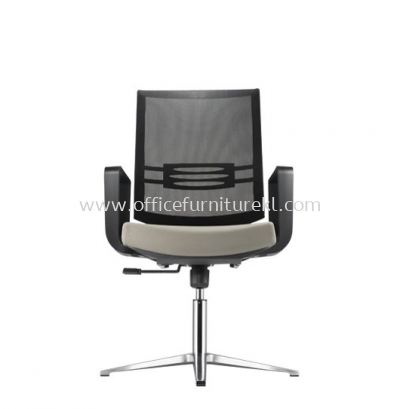 INTOUCH 3 VISITOR ERGONOMIC MESH CHAIR C/W ALUMINIUM BASE