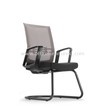 INTOUCH 4 VISITOR ERGONOMIC MESH CHAIR C/W EPOXY BLACK CANTILEVER BASE