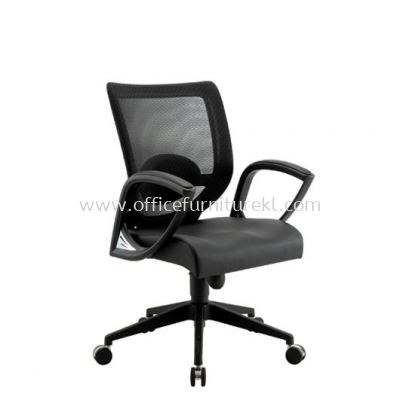 KAPAS 1 LOW BACK ERGONOMIC MESH CHAIR WITH FIXED ARMREST