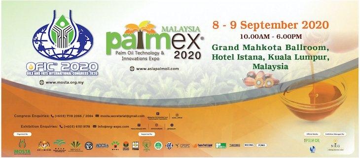 PALMEX MALAYSIA 2020 September 2020