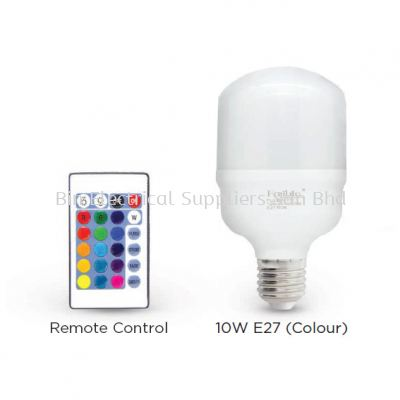 LED T-SERIES (COLOUR) 10W E27
