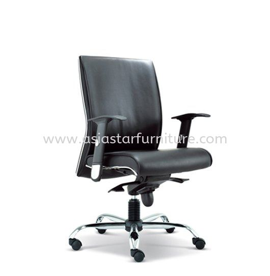 MIGHT DIRECTOR LOW BACK LEATHER OFFICE CHAIR- director office chair tmc bangsar | director office chair mid valley | director office chair ampang point