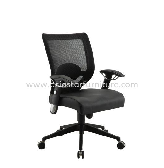 KASANO LOW BACK MESH OFFICE CHAIR -mesh office chair sepang | mesh office chair salak south | mesh office chair pudu