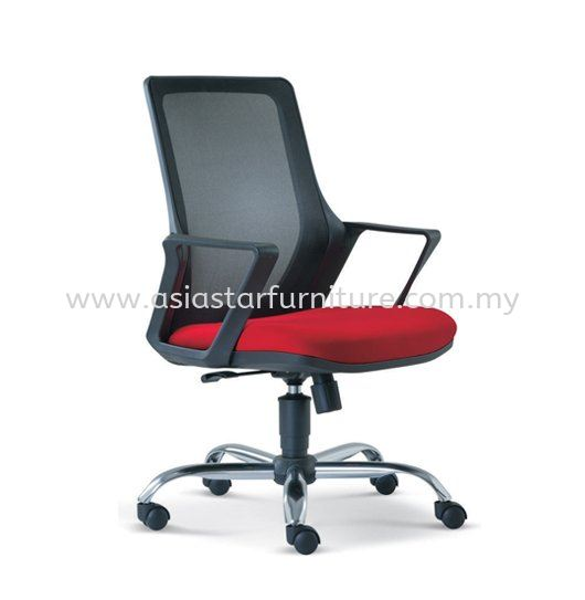 REAL MESH CHAIR WITH CHROME BASE ASE2692