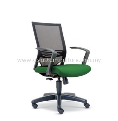 RELEASE LOW BACK MESH CHAIR WITH FASHIONABLE STYLISH PP ARMREST ASE-2613