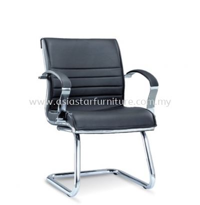 DIRECTIV VISITOR CHAIR WITH CHROME TRIMMING LINE ASE1064