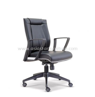 GREATER LOW BACK CHAIR WITH CHROME TRIMMING LINE ASE2523