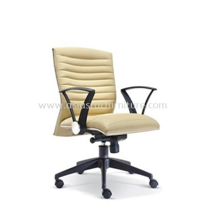 HOMEY LOW BACK CHAIR WITH CHROME TRIMMING LINE ASE2383