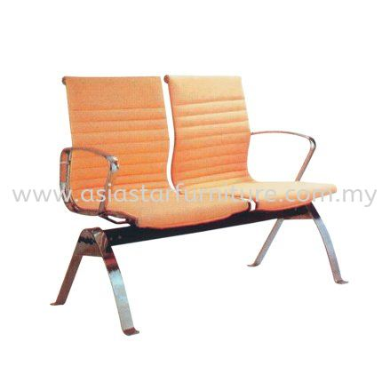 LEO TWO SEATER LINK CHAIR UPHOLSTERY WITH CHROME BODY FRAME - Top 10 Best Value executive office chair | executive office chair Seksyen 14 | executive office chair Seksyen 51A | executive office chair PJ New Town