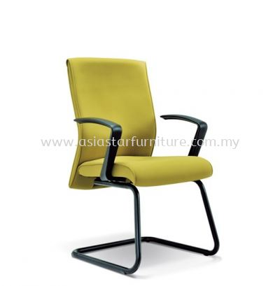CLEAVE VISITOR CHAIR WITH EPOXY BLACK CANTILEVER BASE ASE 2234