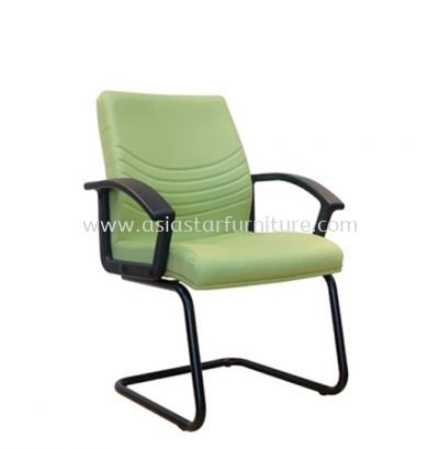 HOPE VISITOR CHAIR WITH EPOXY BLACK CANTILEVER BASE ASE7005