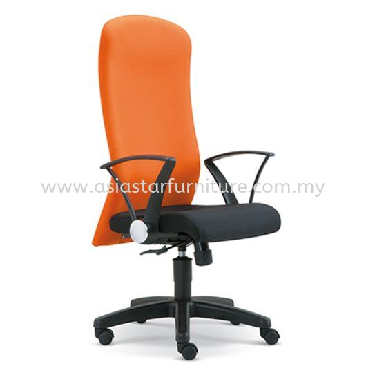 MOST FABRIC HIGH BACK OFFICE CHAIR- fabric office chair subang jaya   fabric office chair subang ss15   fabric office chair chan sow lin