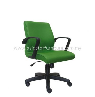 NEXUS LOW BACK CHAIR WITH POLYPROPYLENE BASE ASE 193