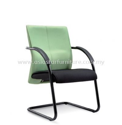 RISE VISITOR CHAIR WITH EPOXY BLACK CANTILEVER BASE ASE 124
