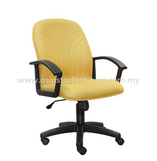 TRUST MEDIUM BACK CHAIR WITH POLYPROPYLENE BASE ASE 5002
