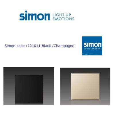 SIMON 721011 16A 1GANG 1 WAY SWITCH COLOR BLACK