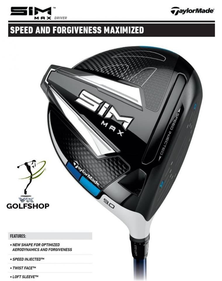 TAYLORMADE MAX DRIVER SPECIFICATIONS!