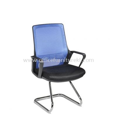STRANMAN VISITOR MESH CHAIR WITH CHROME BASE- SM-C3
