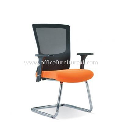 VICTORY MESH VISITOR CHAIR WITH CHROME BASE ASE2683