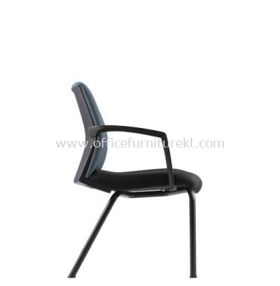 FITS EXECUTIVE VISITOR CHAIR WITH STEEL BASE AFTF7114