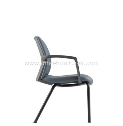 FITS EXECUTIVE VISITOR LEATHER CHAIR WITH 4 LEGGED METAL BASE AFT 5714L