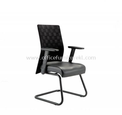 WEAVY ACL 2266 VISITOR CHAIR WITH WEAVE DESIGN