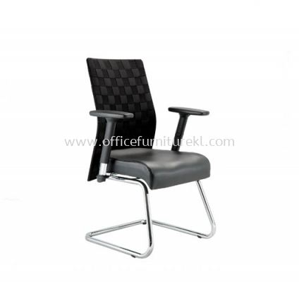 WEAVY ACL 1166 VISITOR CHAIR WITH WEAVE DESIGN