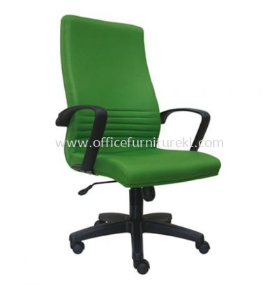 DEMO STANDARD HIGH BACK FABRIC CHAIR WITH POLYPROPYLENE BASE