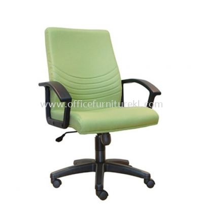 HOPE STANDARD MEDIUM BACK FABRIC CHAIR WITH POLYPROPYLENE BASE ASE 7002